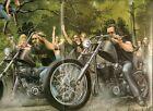 fictional - motorhead, biker life, david mann Wall Decor Poster , no Framed