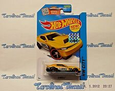 "2015 Hot Wheels Factory Set #14 (yellow-Crower) ""D-MUSCLE"" ~ AA4"