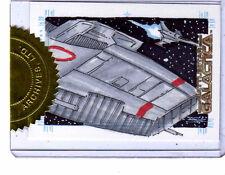 Battlestar Galactica season 2 Jim Kyle sketch card