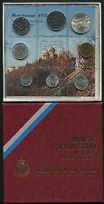 SERIE DIVISIONALE 1975 FDC - OTTO VALORI - REPUBBLICA DI SAN MARINO -