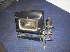 1991-92 Firebird Trans Am RH  Headlight  Assembly with  Motor Passenger BLACK