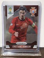2014 CRISTIANO RONALDO JUVENTUS PANINI PRIZM WORLD CUP ROOKIE #161 PORTUGAL RC