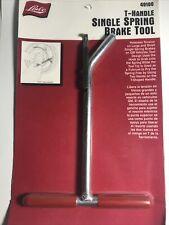 Lisle Tools  T-Handle Single Spring Brake Tool 49100 GM Vehicles