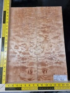 Quilted Maple Book-matched Guitar Top Luthier Wood Supply quiltmap002