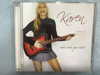 KAREN CD UNA VIDA QUE VIVIR FUN RECORDS 2004