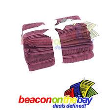 7 Piece Wine 100% Pure Indian Cotton Large Bath Towel Gift Set Indus Sands