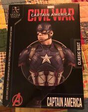 Gentle Giant Captain America Civil War Classic Bust Marvel Avengers #736 of 1500