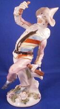 Antique French Porcelain Commedia Dell'Arte Figurine Figure Porzellan Harlequin