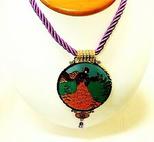 """Pictorial 21"""" Women's Fashion Necklace"""