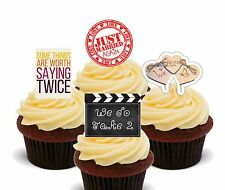 We Still Do Edible Cupcake Toppers, Fairy Cake Decorations Wedding Vows Married