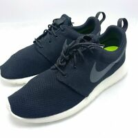 Nike Roshe One Men's Running Shoes Black/Anthracite-Sail 511881-010 Size 9.5