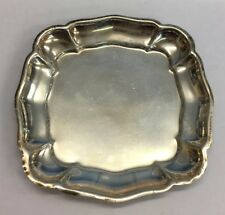Pin Dishes 33.7g 8.5cm In Diameter Antique Style Solid Silver Set Of Three