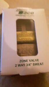"Taco 571-2 3/4"" 2-Way Zone Valve - Gold Series - NEW!"