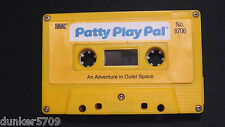 PATTY PLAY PAL DOLL AUDIO CASSETTE TAPE AN ADVENTURE IN OUTER SPACE 1987 WORKS