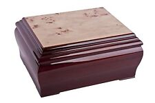 CONTINENTAL wooden ashes casket urn Sympathy Bereavement funeral memorial