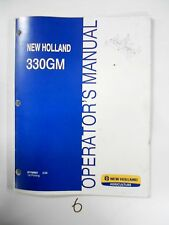 New Holland 330gm Finish Mower Operators Owners Manual 87758961 308