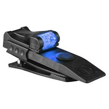 Quiqlite Q-PROBW White/Blue Pro LED Hands Free Pocket Concealable Flashlight