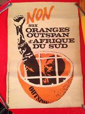 Apartheid /  Mandela en prison / Oranges Outspan