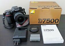 Nikon D7500 20.9MP Digital SLR Camera w/ Nikkor 28-80 f/3.3-5.6 G lens & box