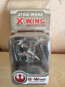 """Star Wars X-Wing Miniaturenspiel - Erweiterung """"B-Wing"""" OVP - deutsch"""