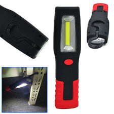 USB Rechargeable COB+LED Inspection Work Light Pen Lamp Hand Torch Magnetic Clip