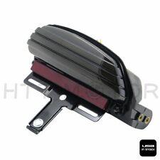 Smoke Tri-Bar Fender LED Tail Light Bracket For Harley FXST FXSTB FXSTC Softail
