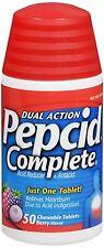 Pepcid Complete Chewable Tablets Berry Flavor 50 Tablets