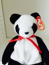 ~FORTUNE the Panda BEAR TY BEANIE BABY Babies new condition RT NWT