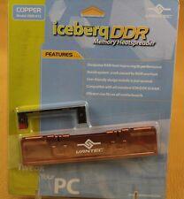Vantec Iceberq DDR-A1C Copper DDR Memory Cooler Heatspreader