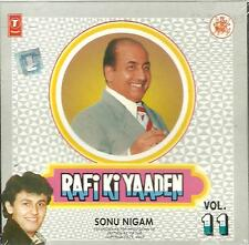RAFI KI YAADEN - SINGER : SONU NIGAM - VOL 11 - CD - FREE UK POST