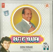 RAFI KI YAADEN - SINGER : SONU NIGAM - VOL 11 - CD - FREE UK POST