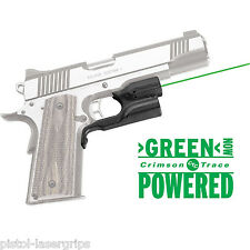 Crimson Trace LG-451 GREEN Laser For KIMBER And S&W 1911 Government/Commander