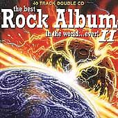 Various : The Best Rock Album in the World Ever, V CD FREE Shipping, Save £s