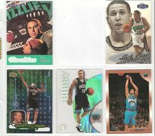 Mike Bibby Assorted ROOKIE  lot of 5 cards