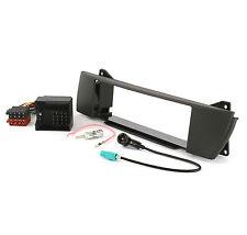 Radioblende Set BMW Z4 E85 E86 Autoradio Blende Adapter Rahmen Antennenadapter