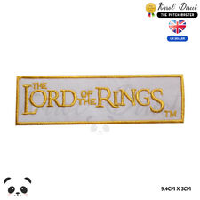 Lord of the Rings Movie Comics Embroidered Iron On Sew On PatchBadge