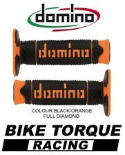 KTM 85 SX  Domino Full Diamond Grips Black / Orange