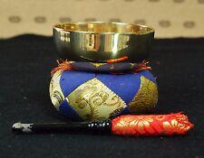 Japanese Buddhist Bell Set Bronze Rin Singing Bowl Temple Altar Fitting #10