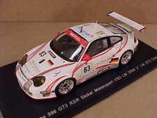 Spark #S0971 1/43 Porsche 996 GTS RSR, 2nd Place LM GT2 Class 2006 LeMans, #83