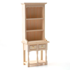 1:12 Dollhouse Miniature Model Furniture Kitchen Tray Table Shelf Toys/_ JQ