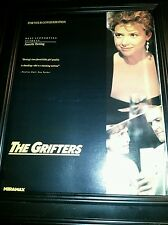 The Grifters Annette Bening Rare Original Academy Awards Promo Poster Ad Framed!