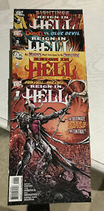 Reign In Hell 1-8 1 2 3 4 5 6 7 8 LOT / SET  2008 DC Comics COMBINED SHIPPING