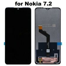 Nokia 7.2 LCD Screen Black Replacement LCD Display Touch Digitizer