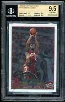 Lebron James Rookie Card 2003-04 Topps Chrome #111 BGS 9.5 (9 9.5 9.5 9.5)