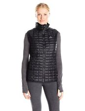 Adidas Outdoor Women's Large-L W Flyloft Vest Black Lightweight Jacket MSRP $115