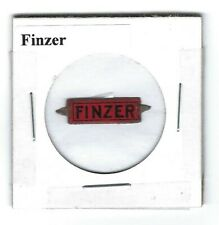 Finzer Chewing Tobacco Tag F227 Die Cut Litho