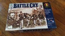 Battle Cry 1999 Avalon Hill Civil War Battlefield Board War Game FREE SHIPPING
