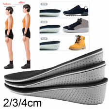 Memory Foam Height Increase Elevator Insoles Pads Soles Foot Mat Inserts Massage