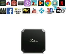 X96 mini android TV BOX 4k SMART TV BOX UNLOCKED* DECO SAT TERESTRIAL FAST SPEED