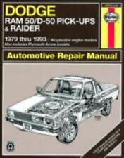 Dodge Ram 50/D-50 Pick-ups & Raider & Plymouth Arrow Pick-ups [79-